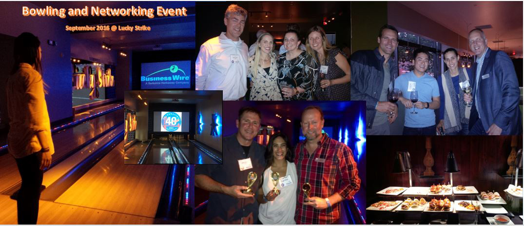 Bowling and Networking Event - September 2016 @ Lucky Strike